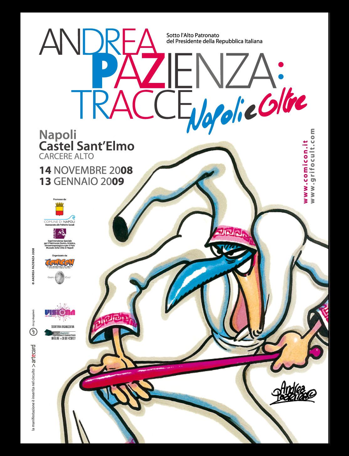 Andrea Pazienza mostra Napoli
