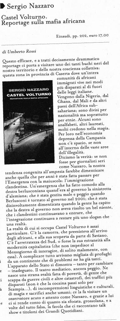 recensione di Umberto Rossi