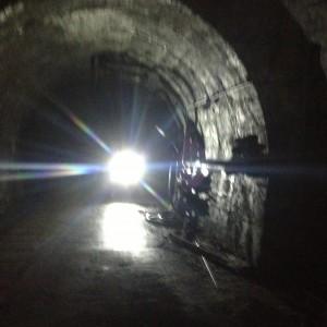 si lavora sottoterra