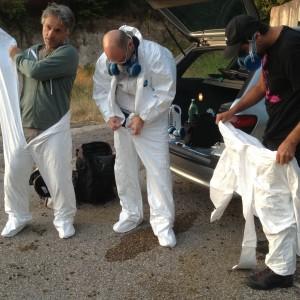 preparazione (sx Mastrorillo, Nazzaro, Cirillo)