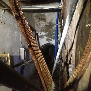la corrosione della struttura