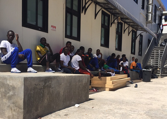 Lampedusa reportage